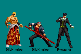 Southtown Team 2D - KOF XIV by BillyKharles