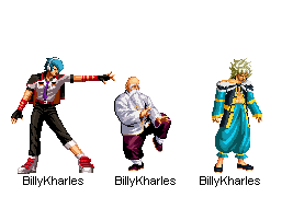 China Team 2D - KOF XIV by BillyKharles