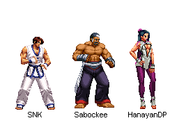 Kim Team 2D - KOF XIV by BillyKharles