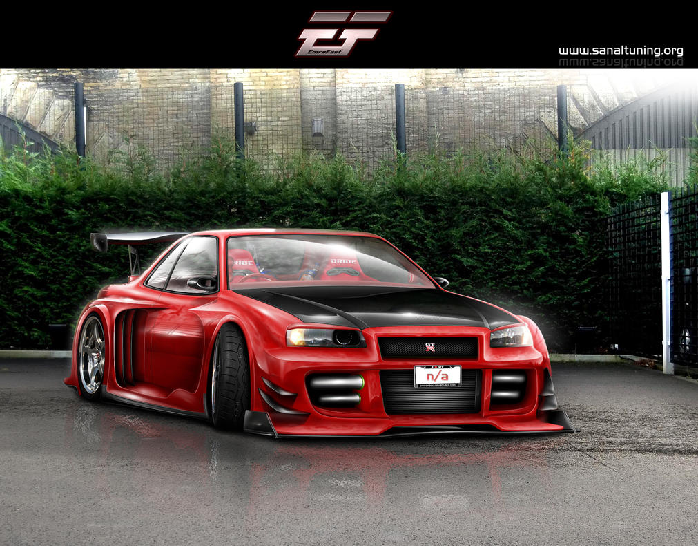Nissan Skyline GTR R34 by EmreFast on DeviantArt