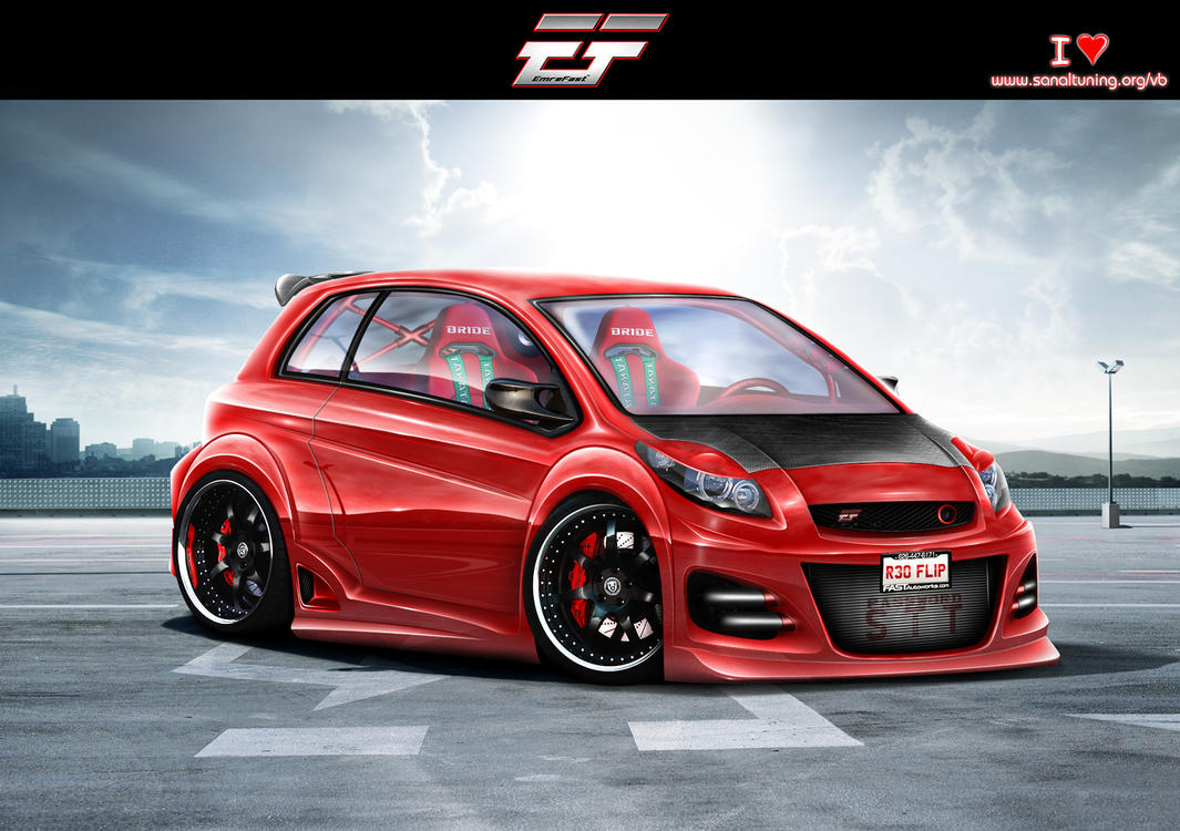 Toyota Yaris 2009 By EmreFast On DeviantArt