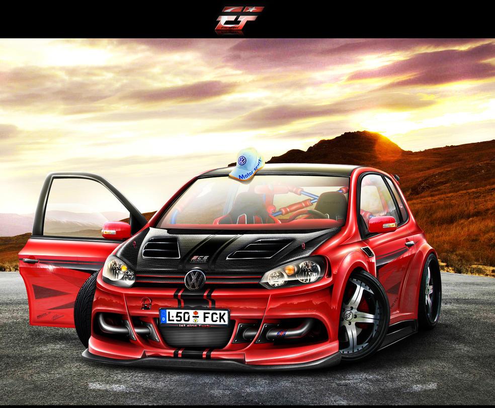 Volkswagen Golf 2009 by EmreFast