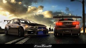 Fast Team Work- Evo X FQ 400s