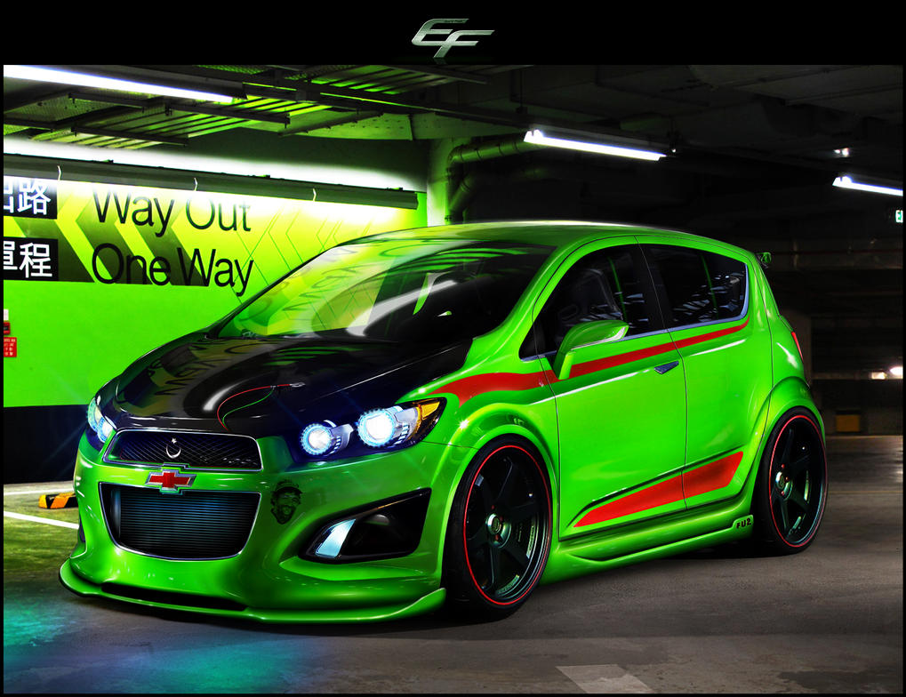 Chevrolet Aveo Rs 2011 By Emrefast On Deviantart