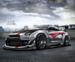 Nissan GTR R35 Team Turkey 2 by EmreFast