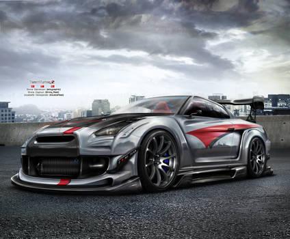 Nissan GTR R35 Team Turkey 2