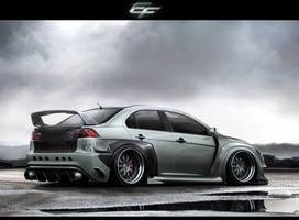 Mitsubishi Lancer Evolution X by EmreFast