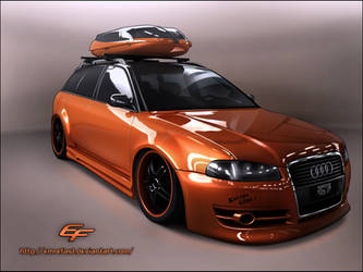 Audi A4 SW Toon by EmreFast