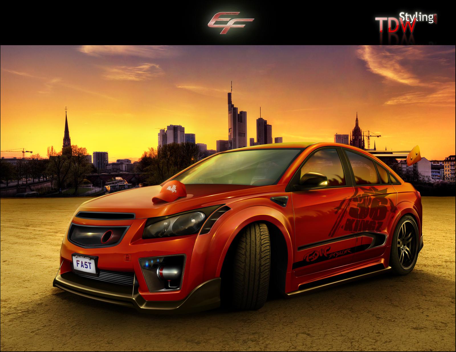 Chevrolet Cruze LS by EmreFast