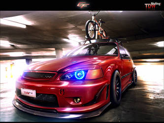 Honda Civic EK9 by EmreFast