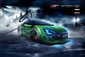 Scion FR-S front - WTBR4 2011 by EmreFast