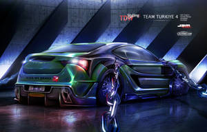 Toyota FT 86 rear - WTBR4 2011 by EmreFast