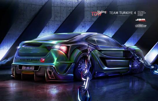 Toyota FT 86 rear - WTBR4 2011