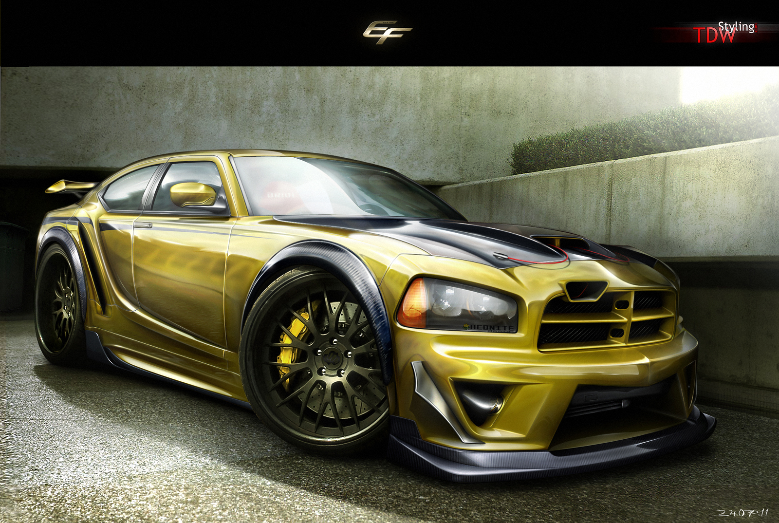 Dodge Charger SRT8 by EmreFast