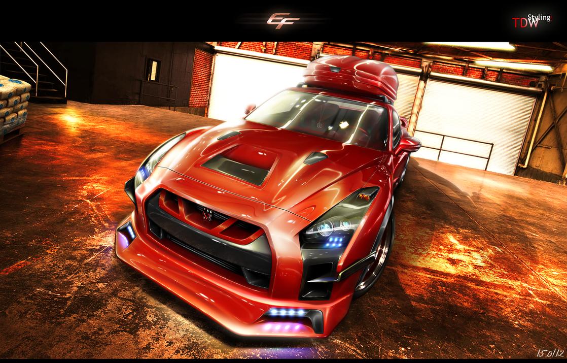 Nissan GT-R R35 by EmreFast
