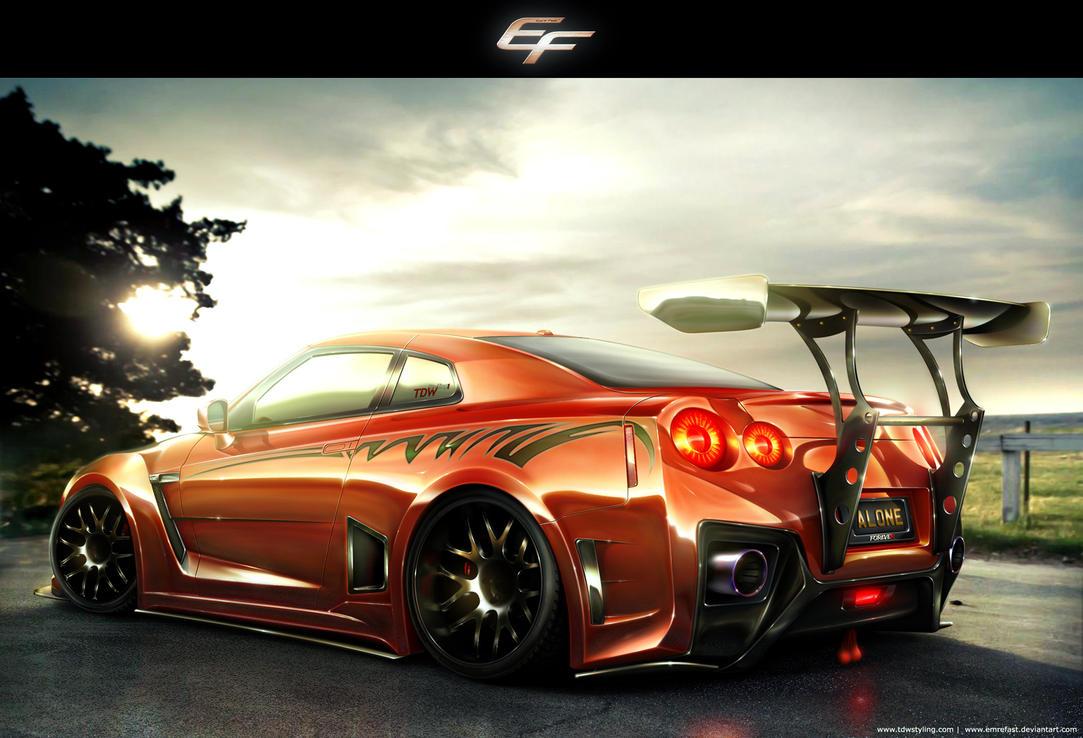 2012 Nissan GT-R by EmreFast