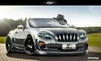 Bentley Continental GTC 2012 by EmreFast