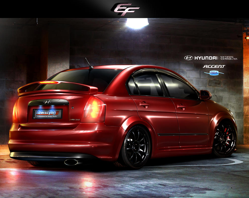 Hyundai Accent Era V6 3 2 By Emrefast On Deviantart