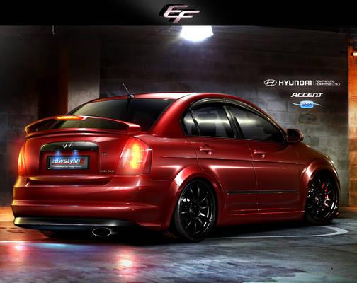 Hyundai Accent ERA V6 3.2