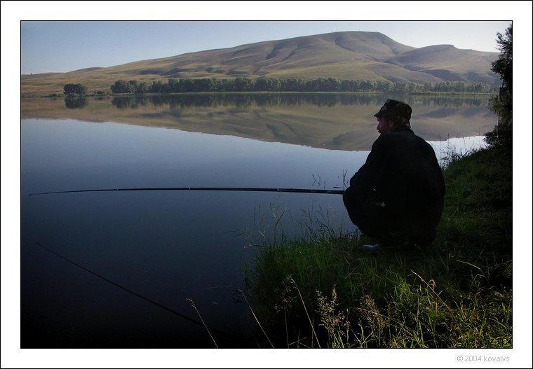 morning fisherman by kovalvs