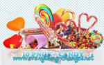 Candies 10 - Pngs