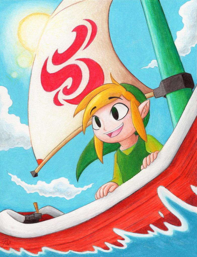 Sailing Over My Sea by MissPiika