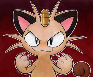 Inktober Day 16: Scratch Cat by MissPiika