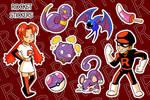 Team Rocket Stickers by MissPiika