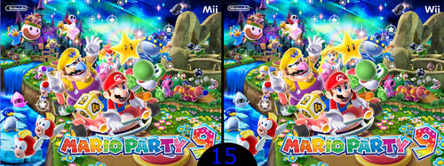 Mario Party 9: Find the Difference?! by TheDareTyler