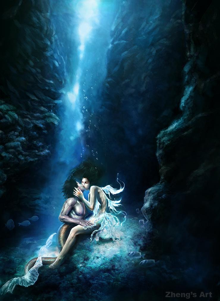 romancing nymph by kerko