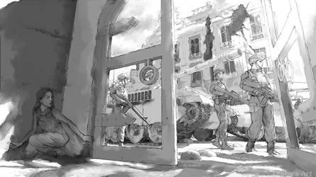 moments of war -wip by kerko