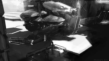 Hangar by kerko