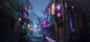cyberpunk Egypt