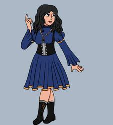 Fantasy!Bree Laroche: Classic Outfit by Opal-Kittens