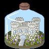 Bottled World: Castle on the Hill by Opal-Kittens