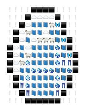 8-bit Diamond(made by friend)