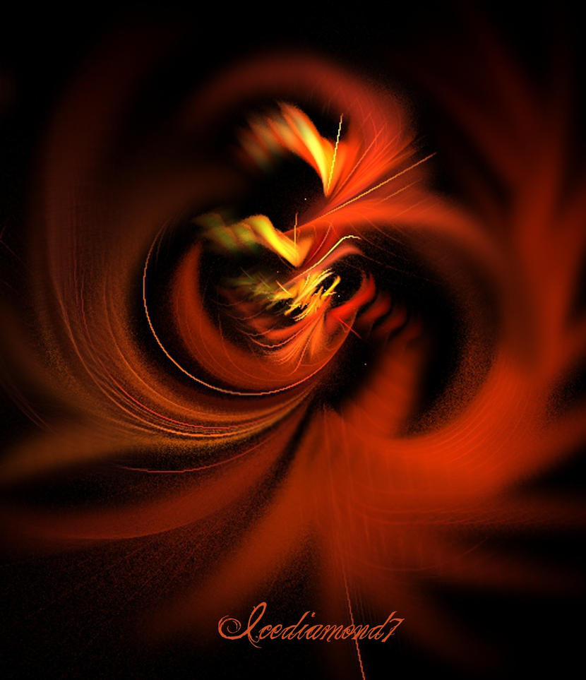 Fire Demon by icediamond7
