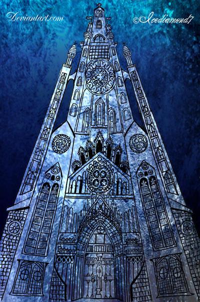 Memory of a Dream- The Church by icediamond7