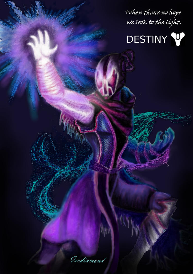 Warlock Destiny 2 by icediamond7
