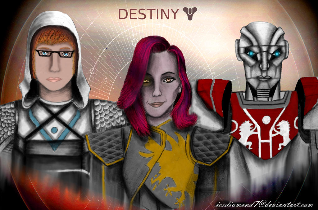Destiny 2 - My Fireteam Part 2 by icediamond7 on DeviantArt