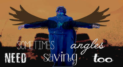 BBC Sherlock - Sometimes Angels Need Saving Too by DeathBloom77