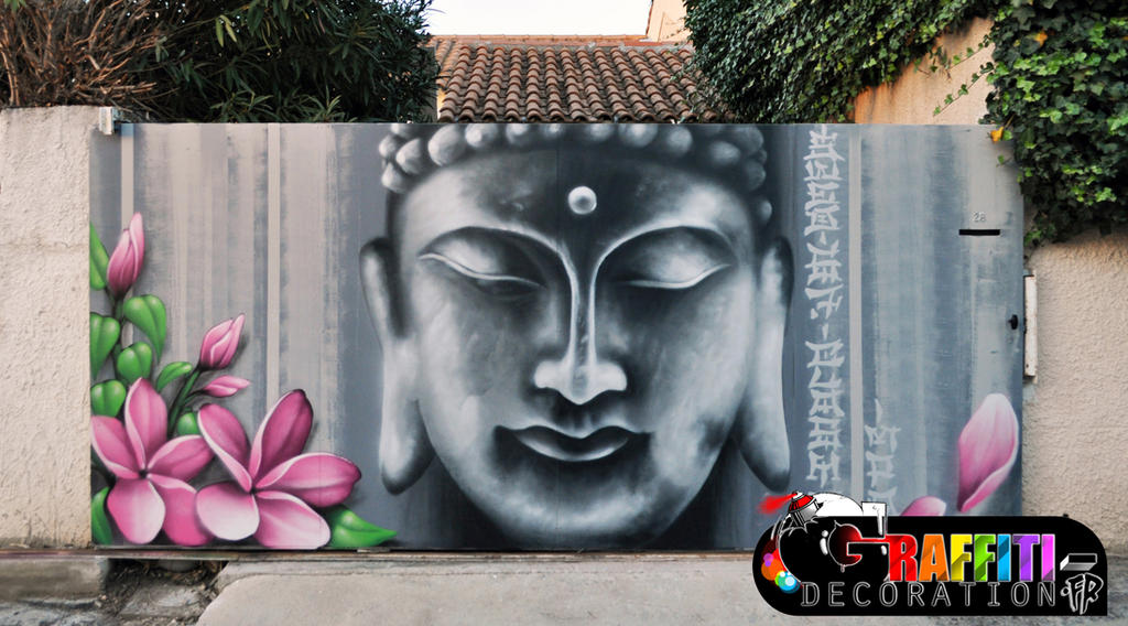 Graffiti mural zen by graffitidecoration on deviantart for Deco mural zen