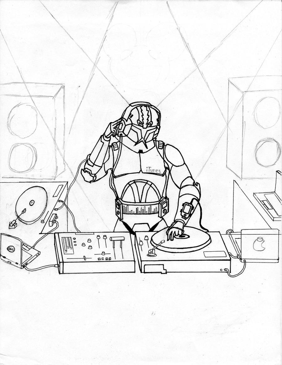 clone trooper dj wip by dominic skirata x on deviantart