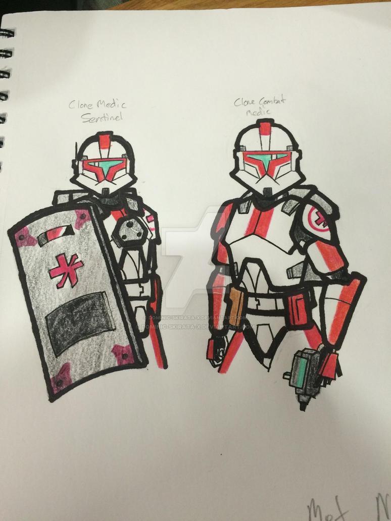 CWC: Clone Medic/Sentinel by Dominic-Skirata-X