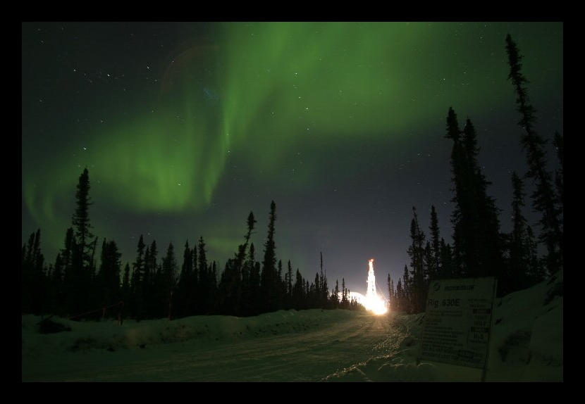 Aurora's Night Show by CaroleLee
