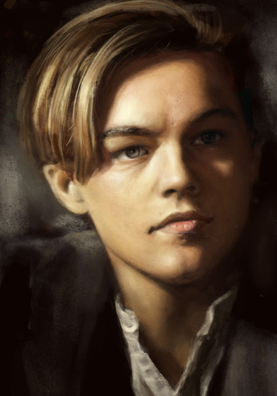 leonardo dicaprio speed painting by zombielocky