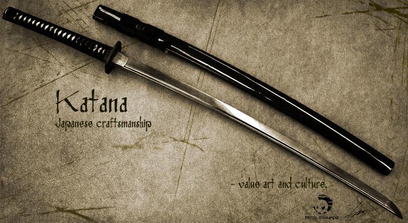 Katana Swords by DigitalFreelancer