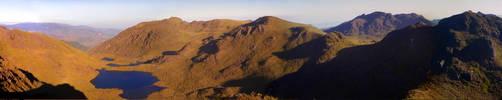 Chirripo peak panorama by brightonbeach