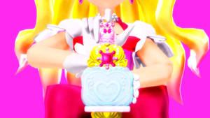 MMD Precure- Cure Flora Exchange! Mode Elegant!