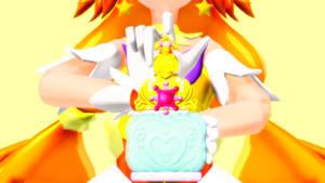 MMD Precure- Cure Twinkle Exchange! Mode Elegant!